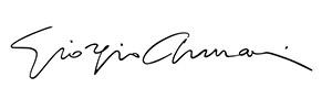 подпись Giorgio Armani