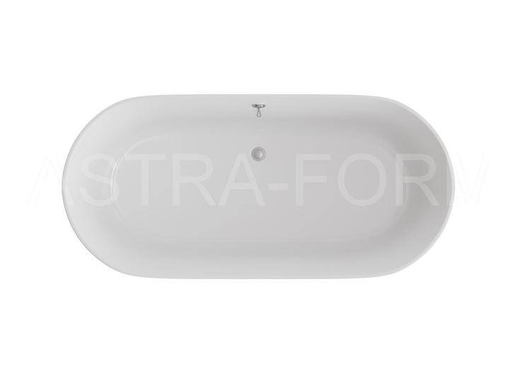 Астра-Форм Шарм 170х80 Ванна из литьевого мрамора