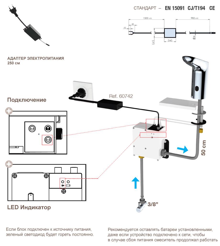 Clever Electronic – Монтажный блок, информация