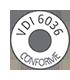 VIDI 6036 Conforme - Система крепежа согласно VDI 6036 Отвечает высоким требованиям. Высокий порог допустимой нагрузки на приборы, оптимальная стабильность и максимальная надёжность.