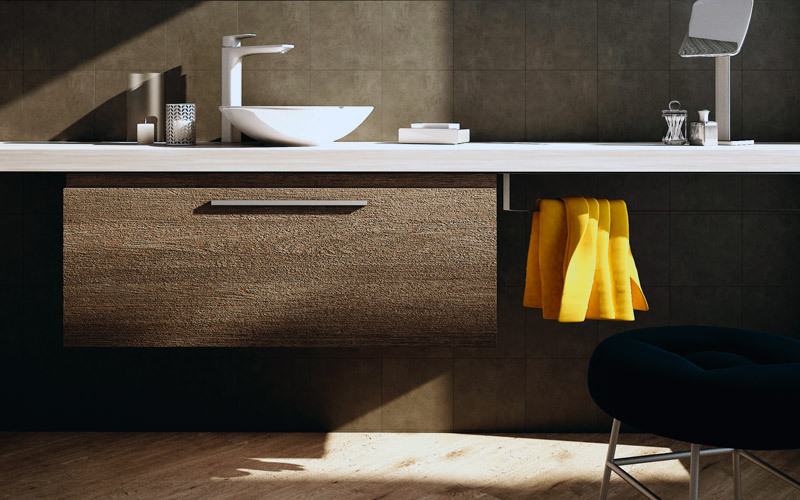 Мебель Creto + фарфоровые раковины от Bocchi