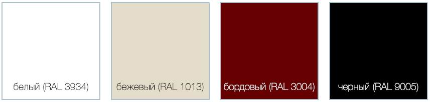 Базовые цвета исполнения De Aqua Мебель для ванной