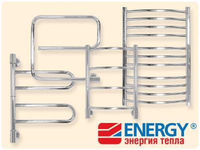 Водяные полотенцесушители Energy (Энерджи)