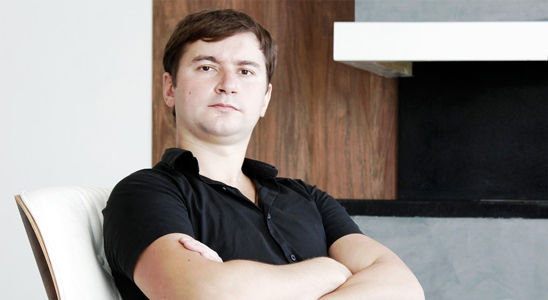 Юрий Вередюк – промышленный дизайнер, конструктор. Дизайнер мебели Eqloo