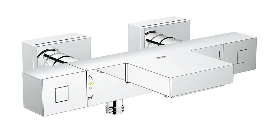 Изображение смесителя для ванной с термостатом – Grohe Grohtherm Cube 34497000