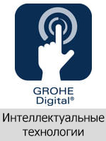 Технология Grohe Интеллектуальные цифровые технологии