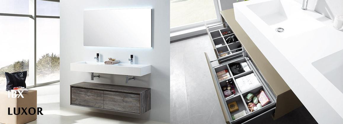 Мебель для ванной IBX коллекции LUXOR