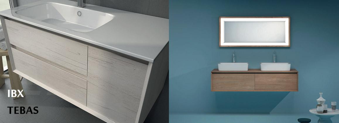Мебель для ванной IBX коллекции TEBAS