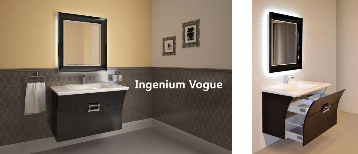 Мебель Ингениум для ванной Ingenium | Картинка в декорации 3