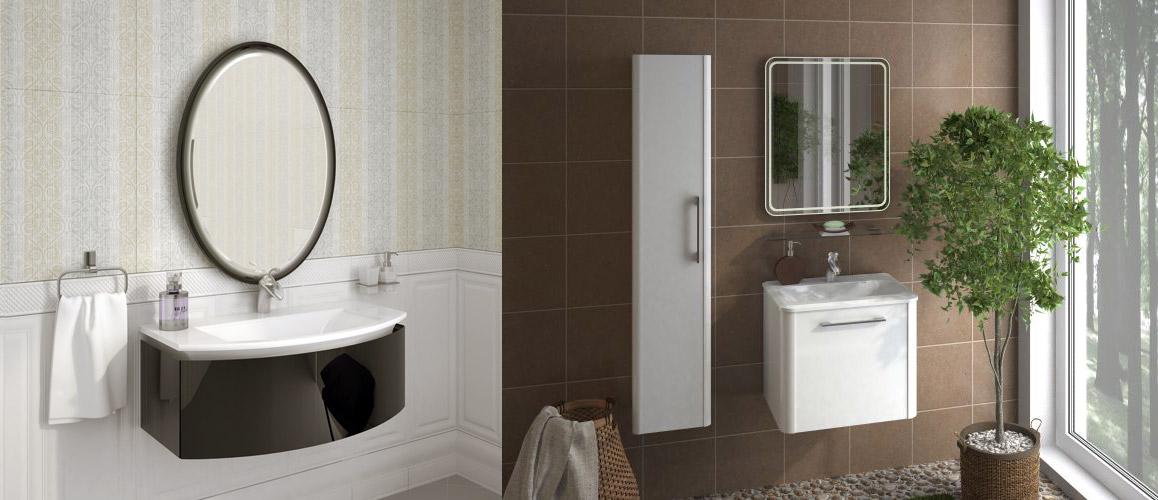 Мебель Ингениум для ванной Ingenium | Картинка в декорации 1