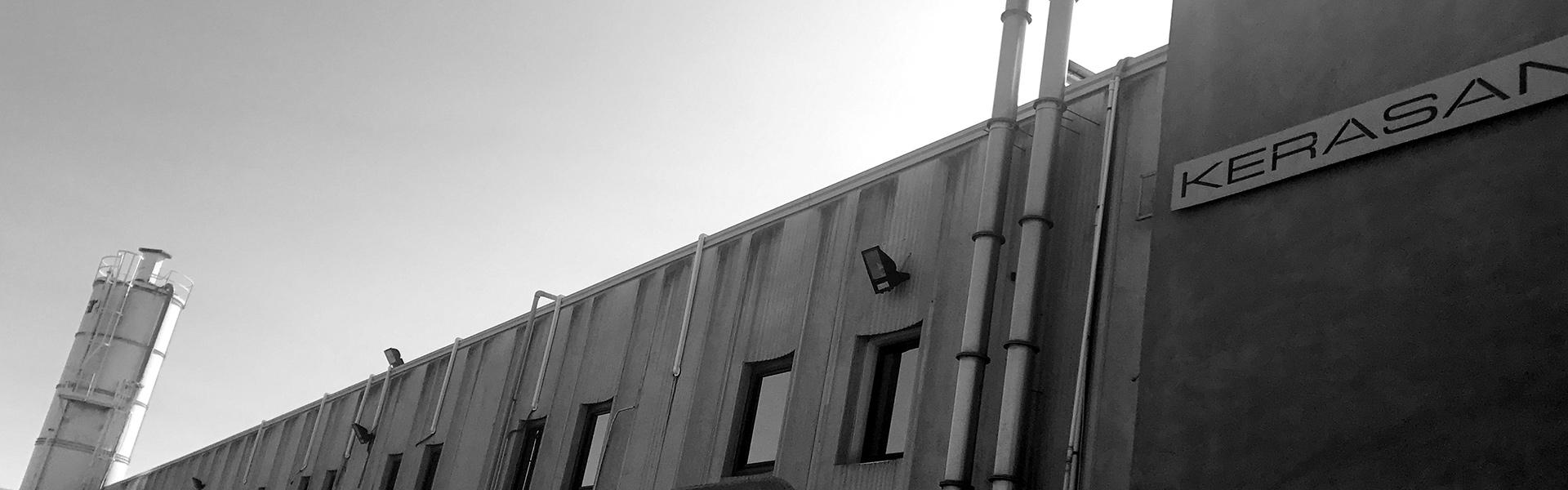 KERASAN Фото завода в Италии