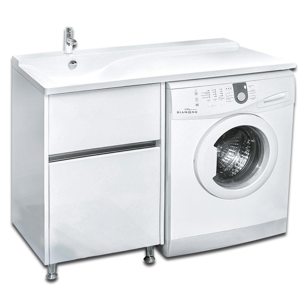 Мебель под стиральную машину Lotos Алисия 120 (артикул 79) - 2 выдвижных ящика