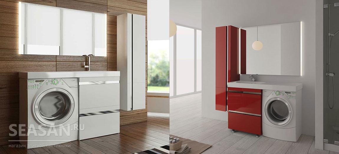 Мебель для ванной Lotos 120 и Lotos 130