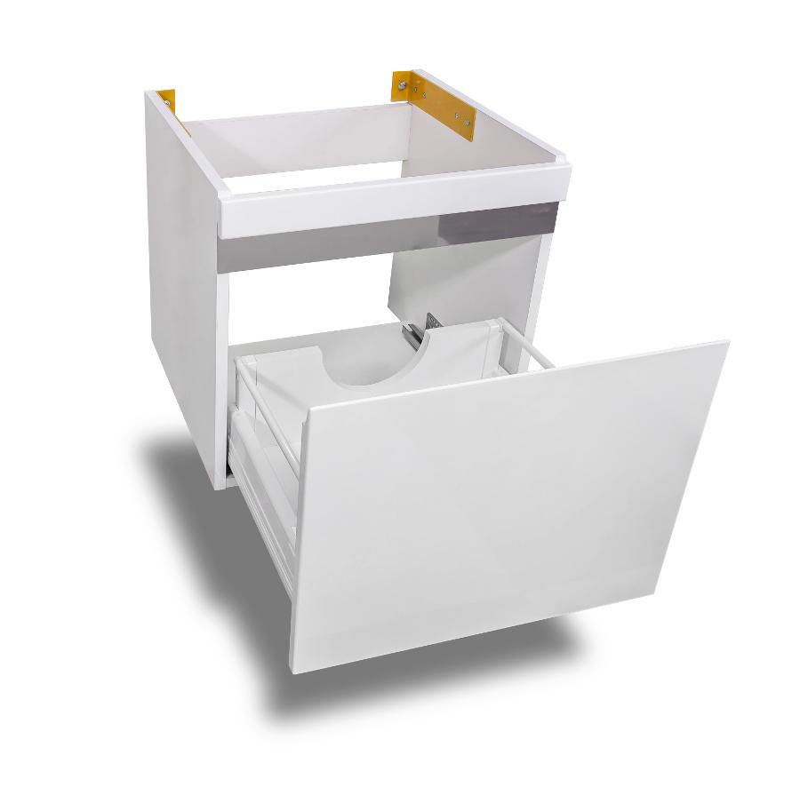 Мебель под стиральную машину Lotos 115 (Лотос 115) арт.55 – тумба с раковиной, 1 выдвижной ящик