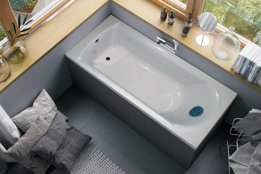 Ванна Marmo Bagno Глория 170 из искусственного мрамора (Россия-Италия)