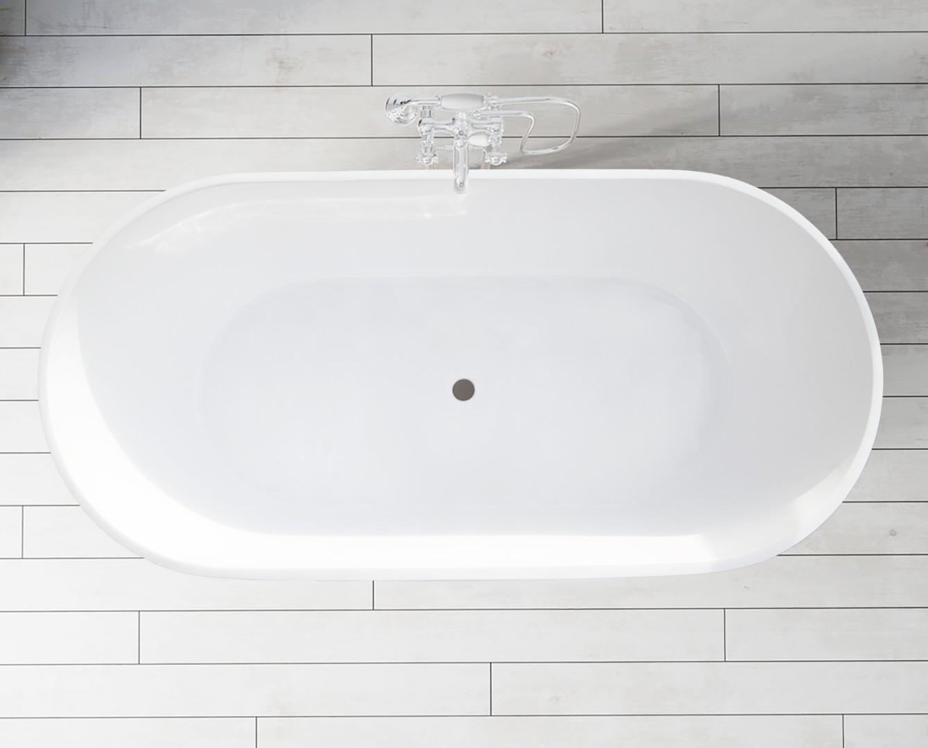 Ванна Marmo Bagno Палермо 170 из искусственного мрамора (Италия)