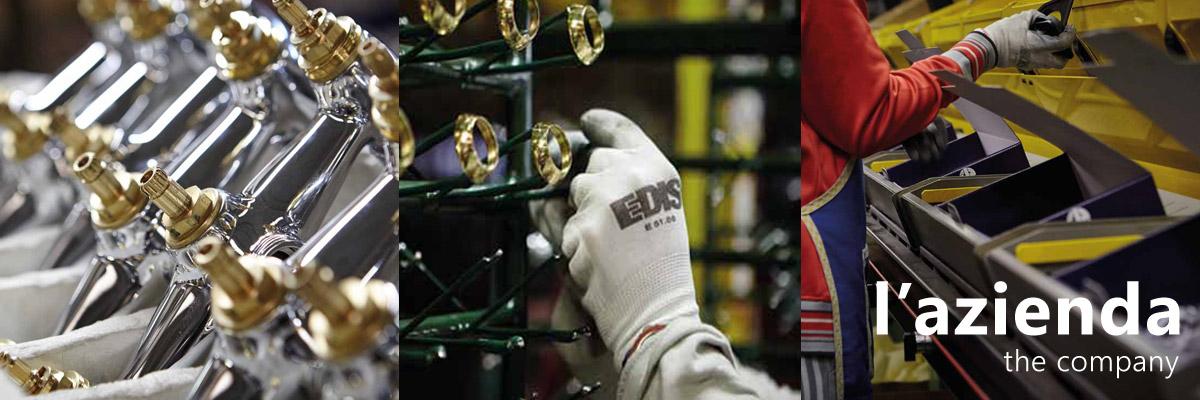 Контроль качества. Опрессовка и тестирование смесителей Palazzani на заводе производителя.