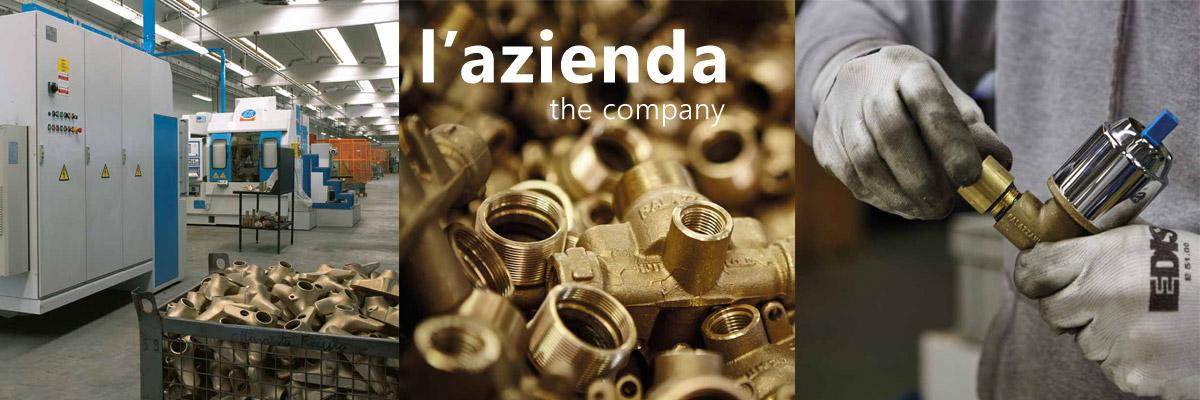 Фабрика Palazzani производство смесителей из латуни