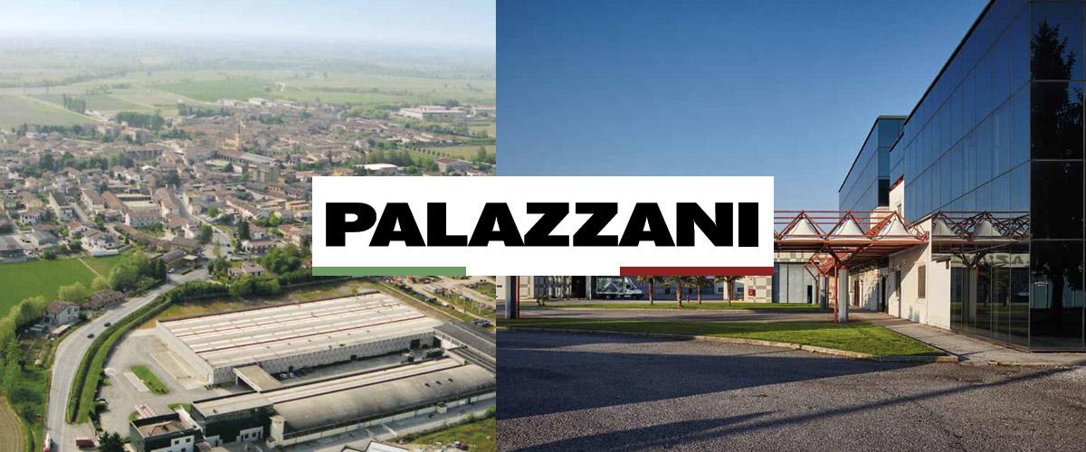 Фабрика Palazzani в Италии. Производство смесителей, изделий из санитарной керамики и полная душевая программа