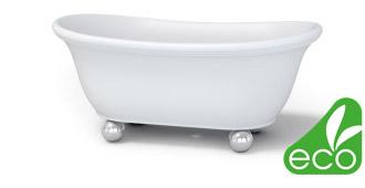 Ванны Salini производятся из экологически чистого сырья.