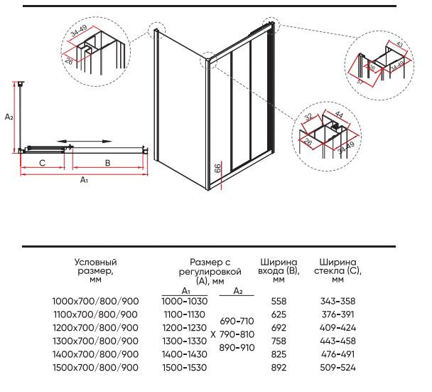 Техническая таблица Veconi RV-031