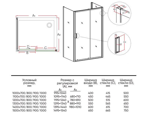 Техническая таблица Veconi RV-046B