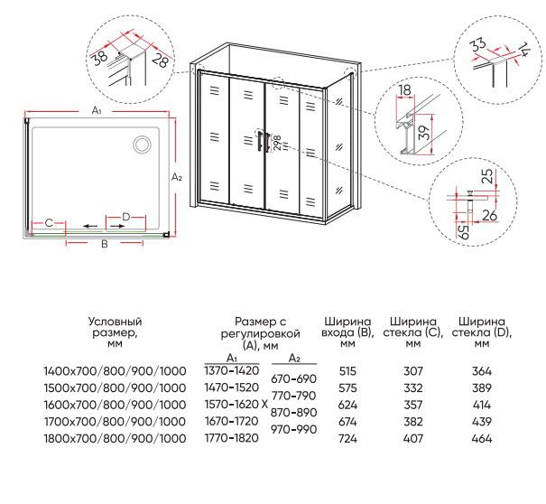 Техническая таблица Veconi RV-062