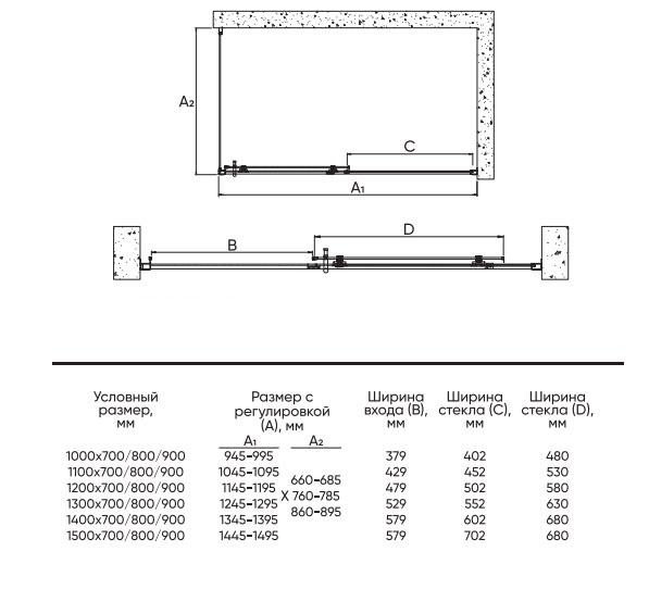 Техническая таблица Veconi RV-072